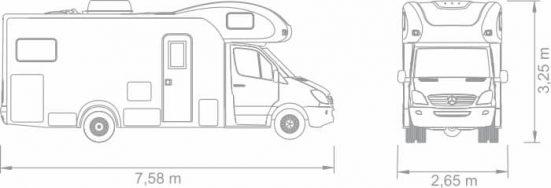 Motorhome Santo Inácio - Detalhes Técnicos